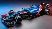 Prezentace nového vozu Alpine F1: modrá kráska pro Alonsa s Oconem - anotační obrázek