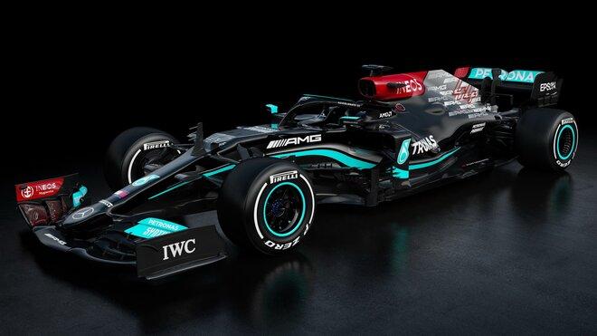 Nový vůz Mercedes-AMG F1 W12