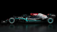 Nový vůz Mercedes F1 W12