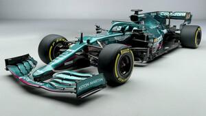 Zelená zpět na scéně. Aston Martin představil vůz pro sezonu 2021 - anotační obrázek
