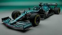 Zelená zpět na scéně. Aston Martin představil vůz pro sezonu 2021 - anotační foto