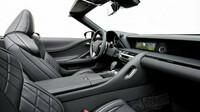 Lexus LC 500 Convertible - bohatě vybavená kabina se pyšní vysoce kvalitními materiály, pohodlím i atraktivitou
