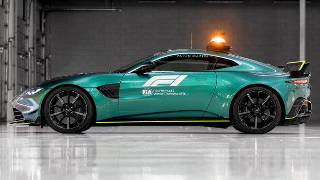 Safety car Aston Martin Vantage pro sezónu 2021