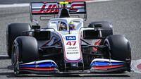 Mick Schumacher během předsezónních testů s Haasem