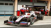 Nikita Mazepin - první předsezonní testy v Bahrajnu