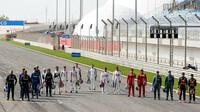 Prezentace jezdců - první předsezonní testy v Bahrajnu