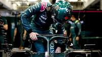 Lance Stroll - první předsezonní testy v Bahrajnu