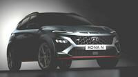 Připravovaný Hyundai Kona N bez kamufláže