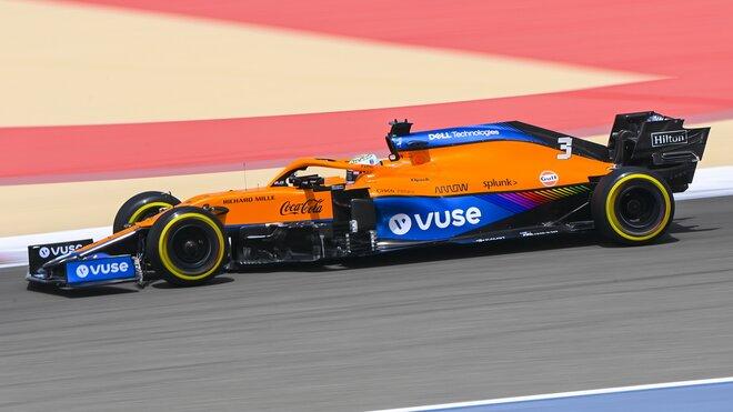Daniel Ricciardo - 2. den předsezonních testů v Bahrajnu