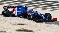 Esteban Ocon - 3. den předsezonních testů v Bahrajnu