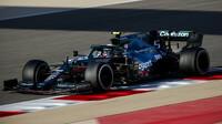 Sebastian Vettel - 3. den předsezonních testů v Bahrajnu