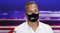 Nikita Mazepin přiznal svou vinu za problémy způsobené Pérezovi