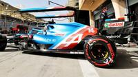Fernando Alonso - páteční trénink v Bahrajnu