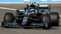 Sebastian Vettel - páteční trénink v Bahrajnu