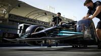 Přední křídlo vozu Mercedes - páteční trénink v Bahrajnu