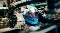Valtteri Bottas - páteční trénink v Bahrajnu