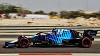 Nicholas Latifi - páteční trénink v Bahrajnu