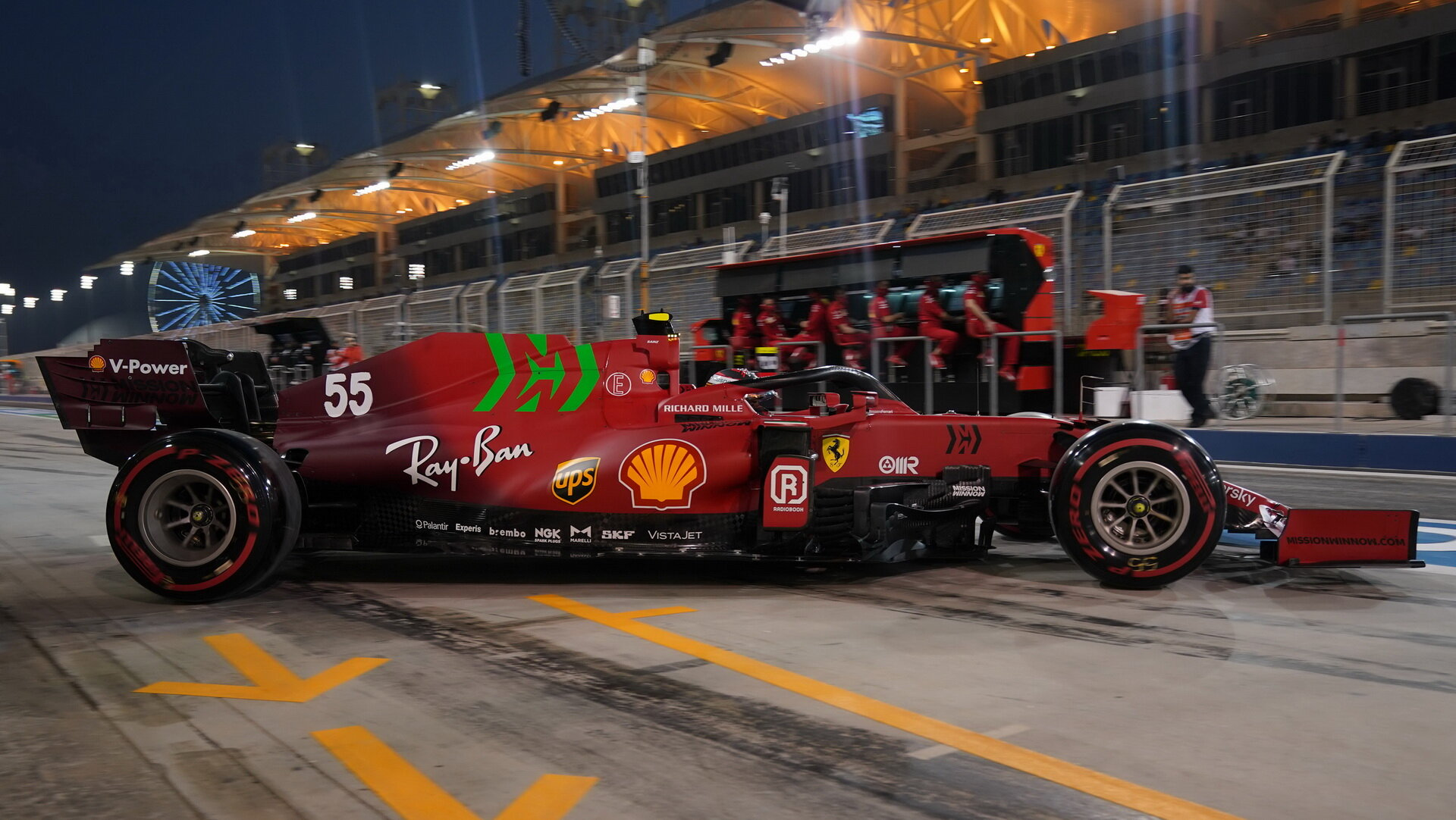 Carlos Sainz - kvalifikace v Bahrajnu