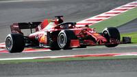 Charles Leclerc - sobotní trénink v Bahrajnu