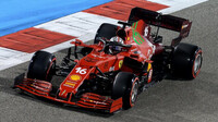 Charles Leclerc - kvalifikace v Bahrajnu
