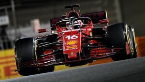 Leclerc vysvětluje, proč se při restartu rozhodl Verstappena nepředjíždět - anotační obrázek