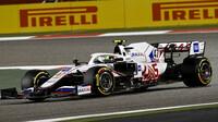 Mick Schumacher - závod v Bahrajnu