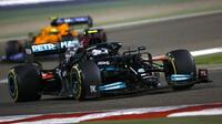 Valtteri Bottas - závod v Bahrajnu