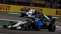 Nicholas Latifi - závod v Bahrajnu