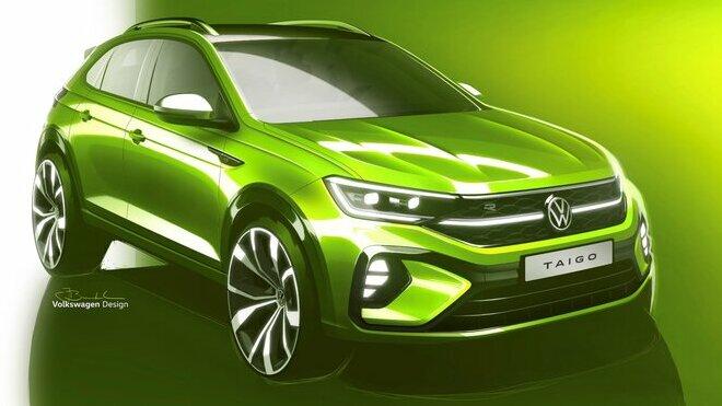 Volkswagen ukázal skici sportovního crossoveru Taigo
