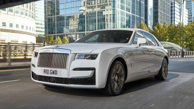 Rolls Royce Ghost je aktuálně velmi žádaným modelem předevší na trzích v Asii a USA