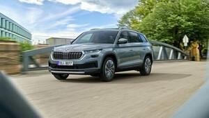 MODERNIZOVANÝ KODIAQ. Škoda představila své největší SUV s vylepšeními a novým TSI - anotační obrázek