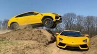 Tady šlo o miliony, americký youtuber přeskočil Urusem Aventador - anotační obrázek