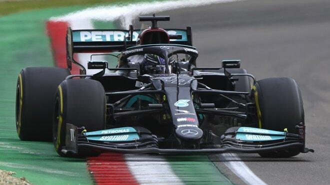 Lewis Hamilton - závod na Imole