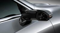 Lexus ES - klasická vnější zpětná zrcátka jsou za příplatek nahrazena kompaktními kamerami s vysokým rozlišením