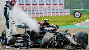 """Šéf F1 se zastává nováčka Russella: """"Bottas mu nenechal žádné místo"""" + VIDEO - anotační obrázek"""