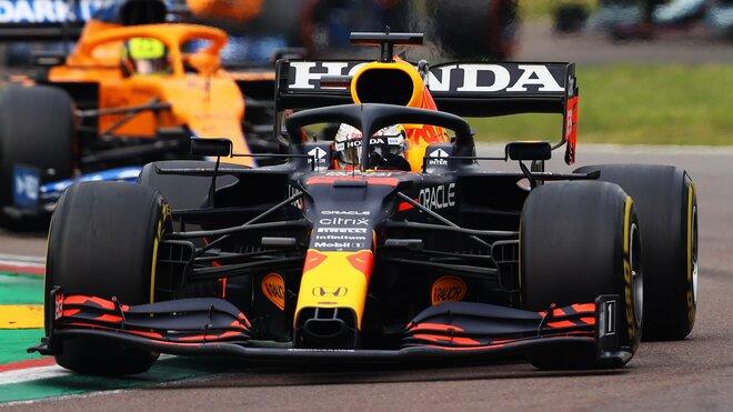 Max Verstappen ve strhujícím závěru zajel nejrychlejší čas - ovšem pouze dočasu (ilustrační foto)