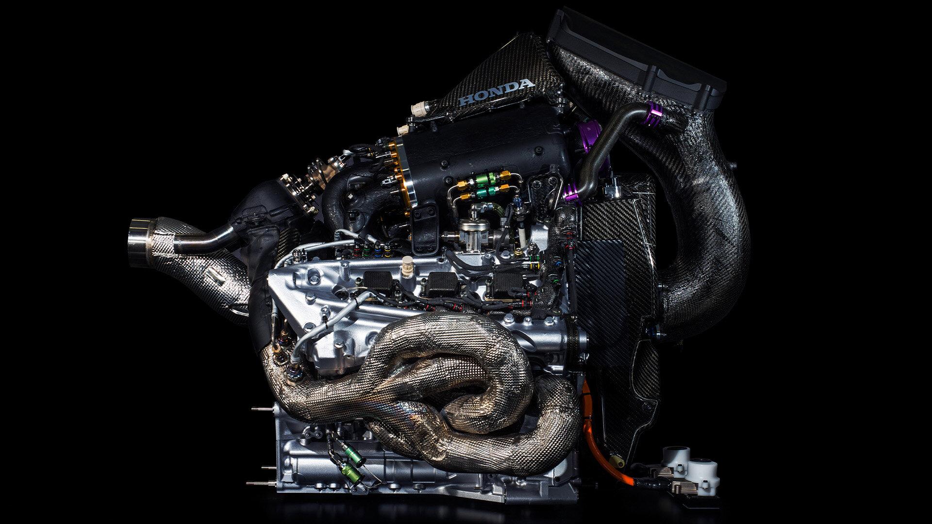 Pohonná jendotak Honda RA618H