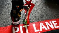 Trofej za druhé místo Max Verstappena- závod v Portugalsku
