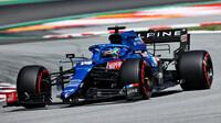 Fernando Alonso - kvalifikace v Barceloně