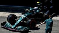 Sebastian Vettel - kvalifikace v Barceloně