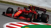 Carlos Sainz s Ferrari SF21