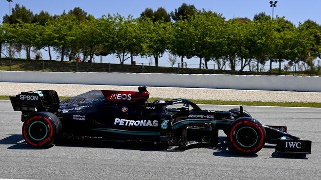 Lewis Hamilton byl dnes opět suverénně nejrychlejší