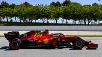 Carlos Sainz - kvalifikace v Barceloně