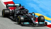 Lewis Hamilton - závod v Barceloně