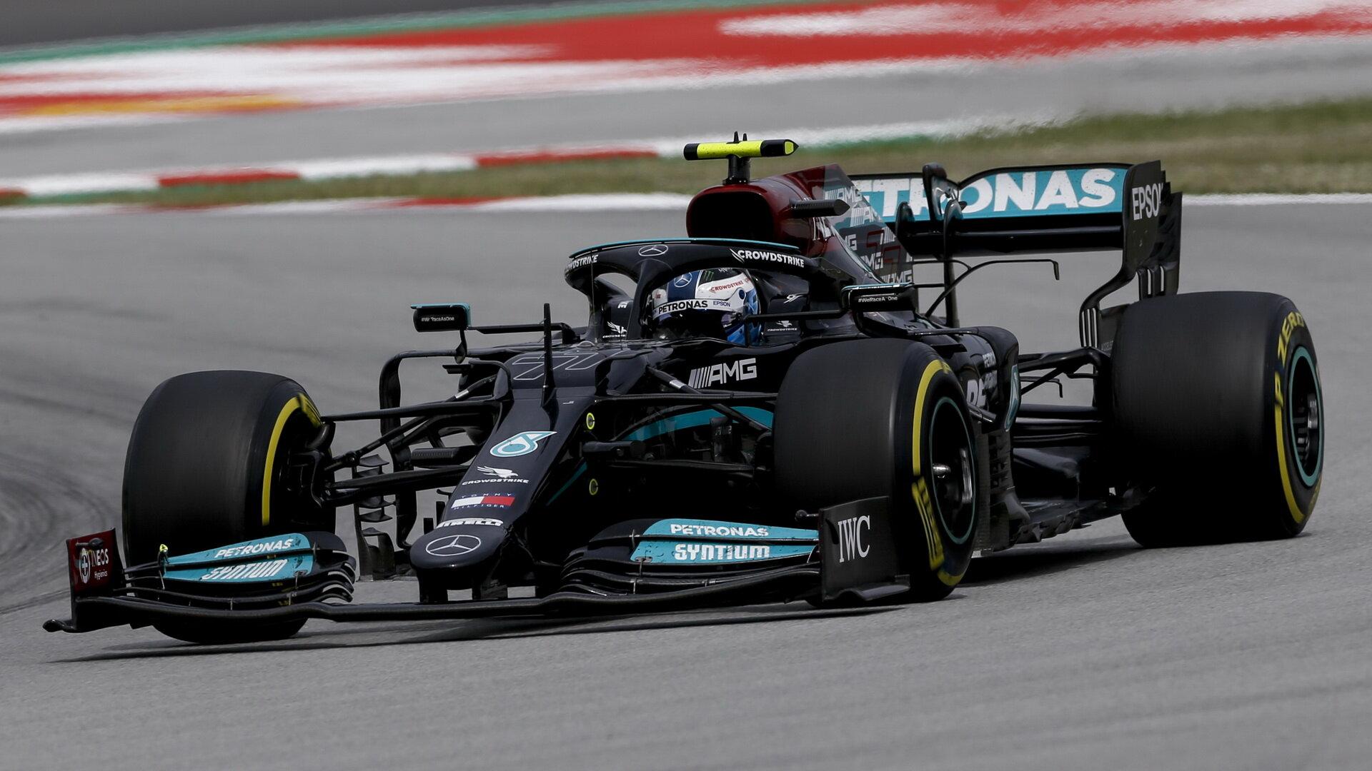 Valtteri Bottas s Mercedesem W12