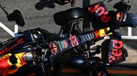 Max Verstappen před závodem v Barceloně