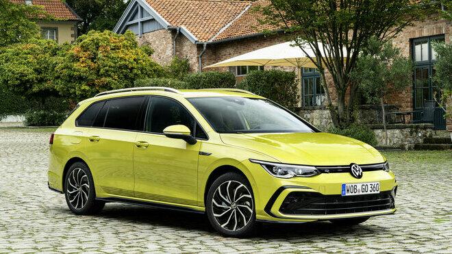 Nový Volkswagen Golf Variant zaujme na první pohled mimořádně čistým a dynamickým designem