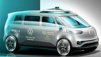 Volkswagen spouští zkušební provoz autonomních vozidel ID. BUZZ AD - anotační obrázek