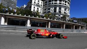 Carlos Sainz v tréninku na Velkou cenu Monaka 2021
