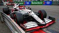 Kimi Räikkönen - kvalifikace v Monaku